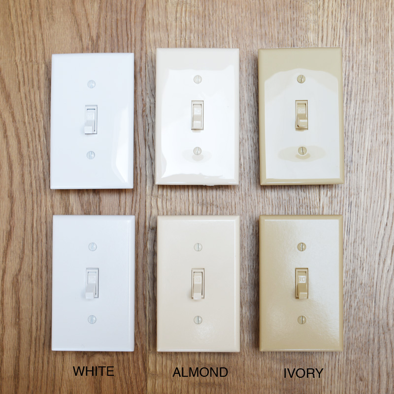 Lighting Switch Switch Toggle Switch Plate Ivory